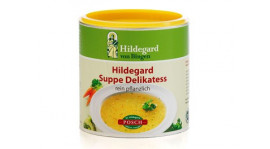 Sopa vegetal de Santa Hildegarda
