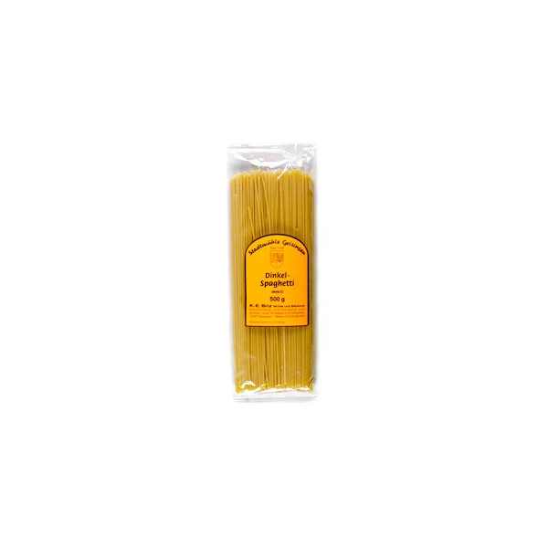 Espaguettis de espelta (no hibridada)