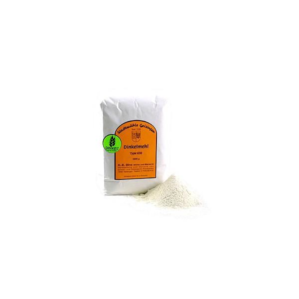 Harina de espelta blanca 630 según Dr. Hertzka