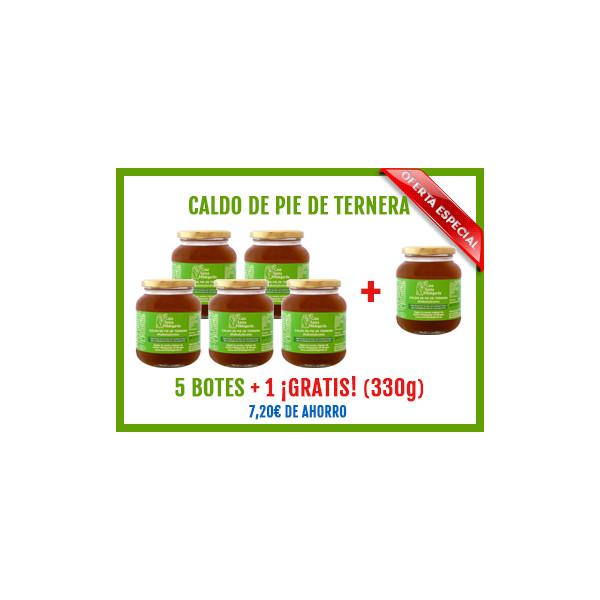 OFERTA-Caldo de pie de Ternera (5+1 gratis)
